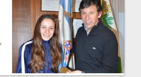 Posse recibió a la campeona nacional de Cross Country