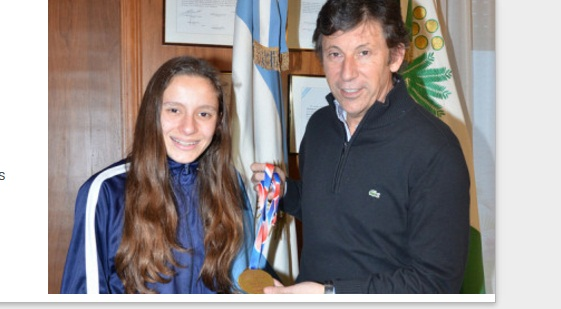 Posse recibió a la campeona nacional de Cross Country