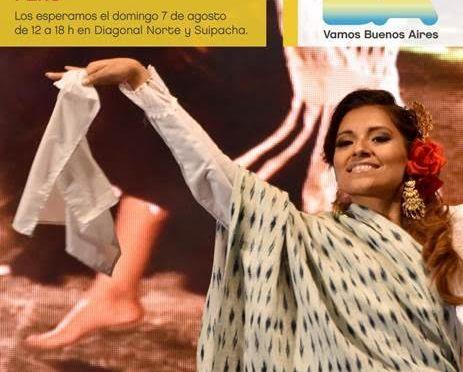 Llega la fiesta de Perú al Buenos Aires Celebra