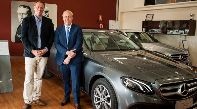 Autolider presentó el nuevo Mercedes Benz Clase E, que llega en cuatro versiones a Uruguay