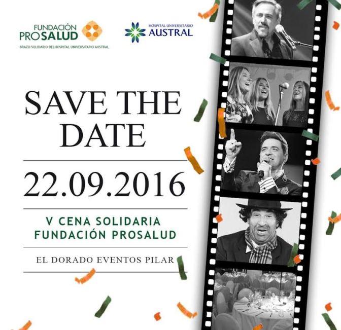 Preparan la 5° Cena solidaria de la Fundación ProSalud en Pilar