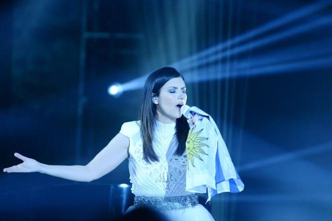 Laura Pausini conmovió a los uruguayos con exclusivo show en Enjoy Conrad