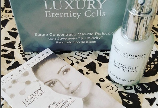 LUCY ANDERSON PRESENTA LUXURY ETERNITY CELLS
