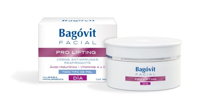 Te presentamos la línea prolifting de Bagovit: crema todo día y contorno de ojos