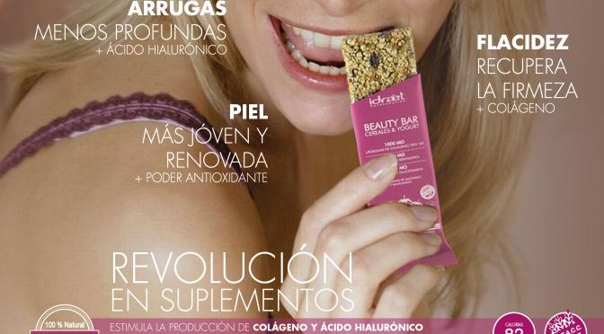 Idraet presenta Beauty Bar, la primer barrita de cereal antiage