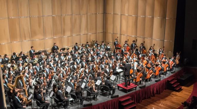 La Orquesta Juvenil Argentina enconcierto