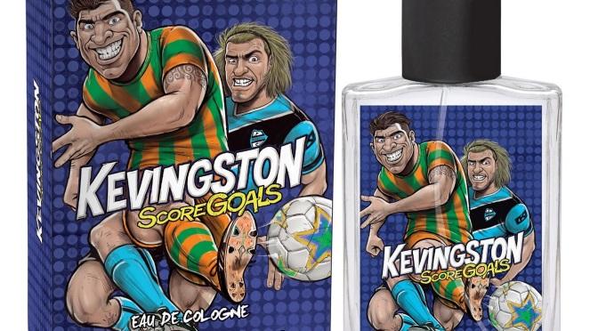 Score Goals de Kevingston una fragancia fresca y divertida