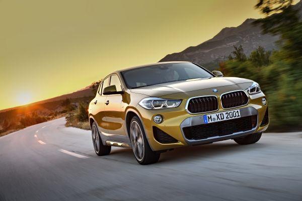 Apariencia emocionante y dinamismo radiante en el nuevo BMW X2