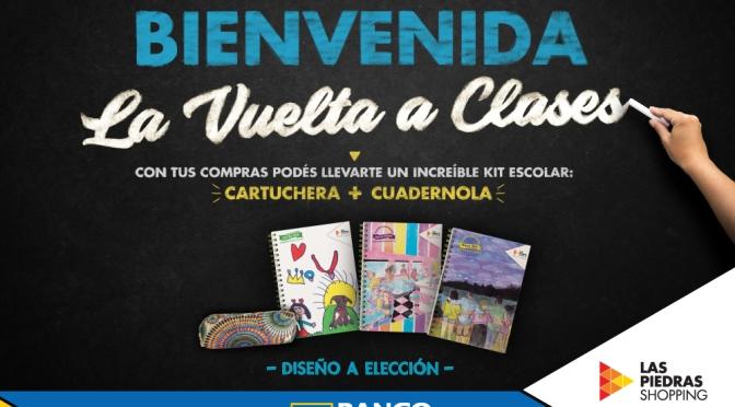 Las Piedras Shopping acompaña el inicio de clases con una promoción especial