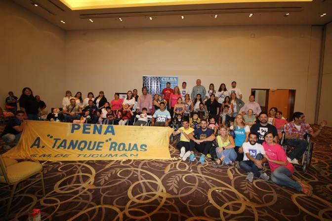 CILSA Y BOCA ENTREGARON 30 ELEMENTOS ORTOPÉDICOS EN TUCUMÁN