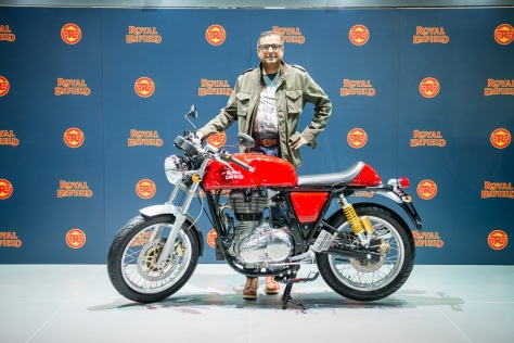 Arun Gopal, Head-International Business de Royal Enfield