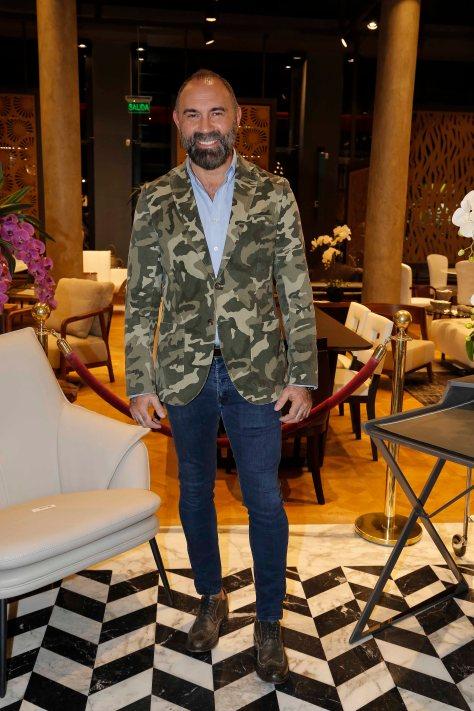 El diseñador Gabriel Lage en la apertura de VIVAI