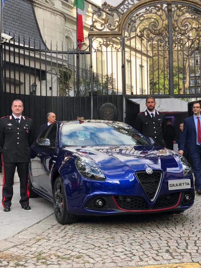 Alfa Romeo en la Fiesta de Italia