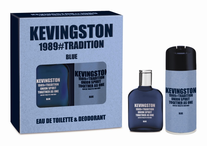 """KEVINGSTON PRESENTA SU NUEVA FRAGANCIA """"1989 BLUE"""" PARA REGALARLE A PAPÁ"""