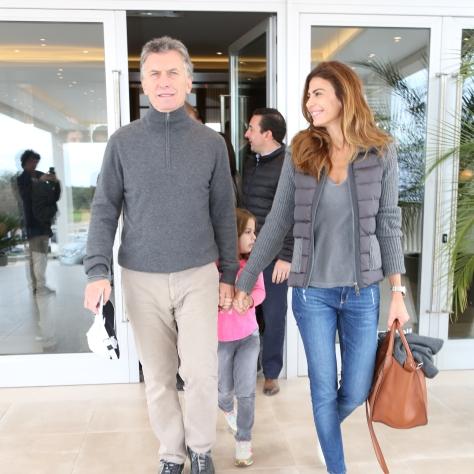 Mauricio Macri y Juliana Awada en la inauguración de Termas de Río Hondo Golf Club