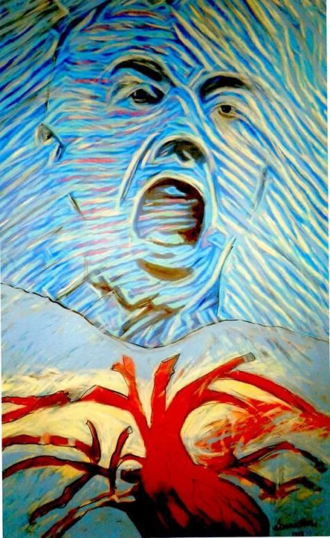 Un grito de corazón Muestra Eduardo Barales