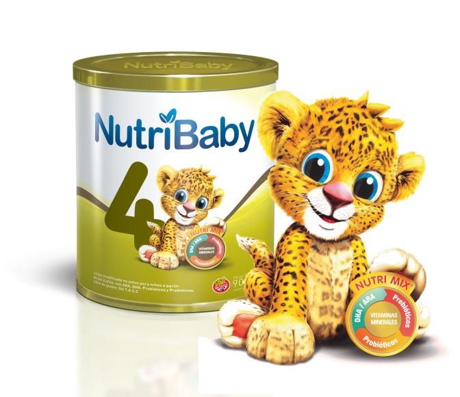 NUTRIBABY 4, la única fórmula infantil premium con simbióticos para niños de 3 a 5 años
