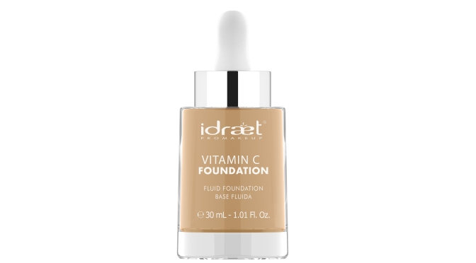 IDRAET PRO MAKE UP PRESENTA SU LINEA VITAMIN C