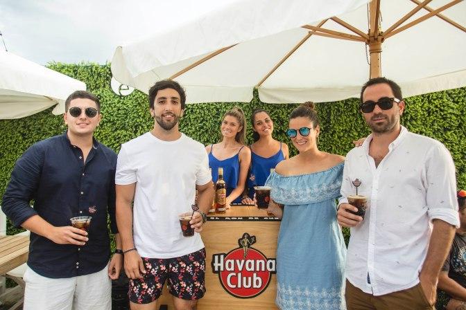 Havana Club lanzó su ciclo Tropical Grooves en OVO Beach con todo el sabor del Caribe
