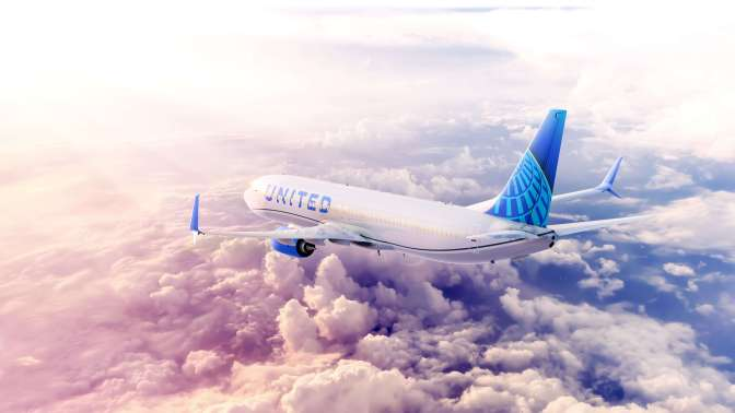 United Airlines revela la nueva imagen de su flota