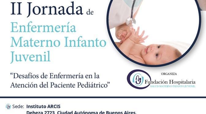 Jornada de enfermería infanto juvenil en la Fundación Hospitalaria