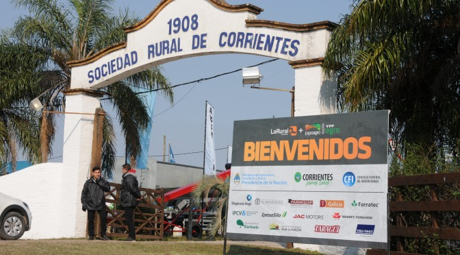 JAC MOTORS participó de Expoagro Corrientes 2019