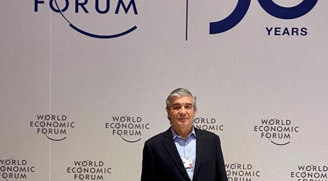 """Reynés en Davos: """"Es necesario abordar la emergencia climática de forma contundente y ágil"""""""