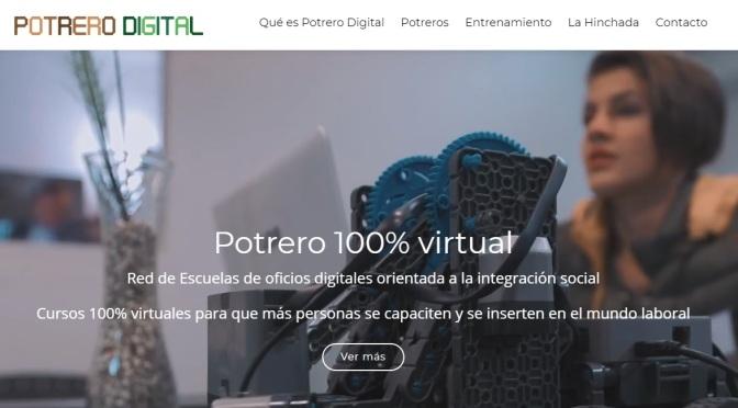 El club Estudiantes de La Plata inaugura su Potrero Digital
