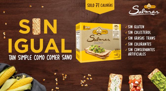 Bimbo invita a probar las deliciosas galletas de maíz Salmas