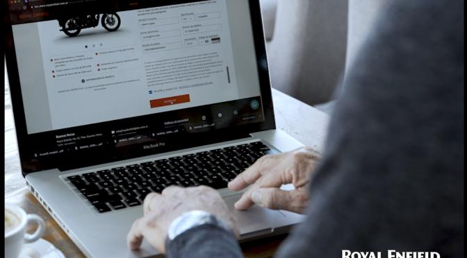 Royal Enfield Argentina lanzó su nueva plataforma de e- commerce
