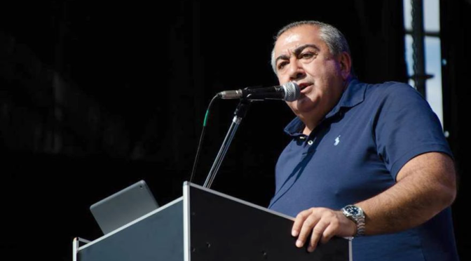 """Hector Daer: """"La propuesta de la UIA es absurda, ilegítima e ilegal"""""""