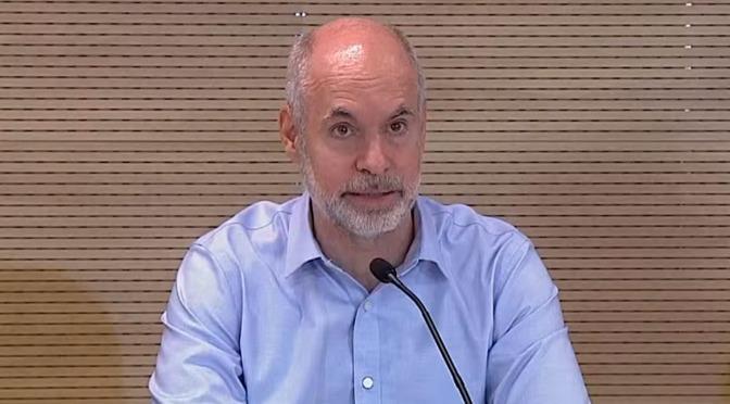 """Horacio Rodríguez Larreta apuntó contra Nicolás Trotta por la presencialidad en las aulas: """"Suerte que no le hicimos caso"""""""