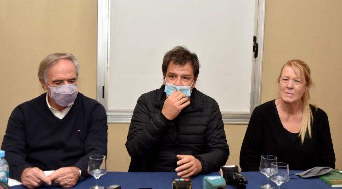 """Manes se mostró con Stolbizer y pidió """"debatir una nueva coalición opositora"""""""