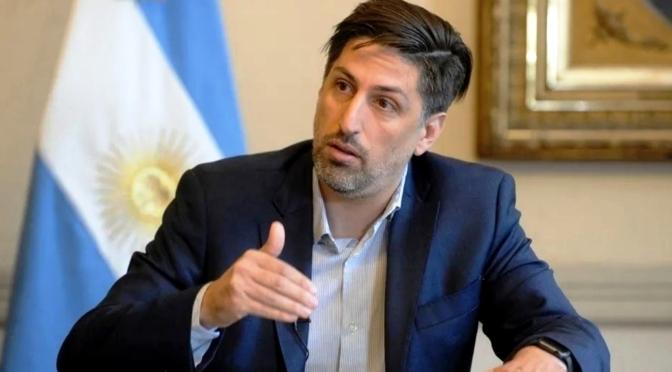 """Nicolás Trotta, sobre posibles cambios en el Gabinete: """"Todos los ministros estamos a disposición"""""""