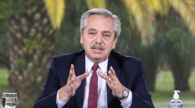 Fernández: No somos parte del país que quiere flexibilizar derechos de los que trabajan