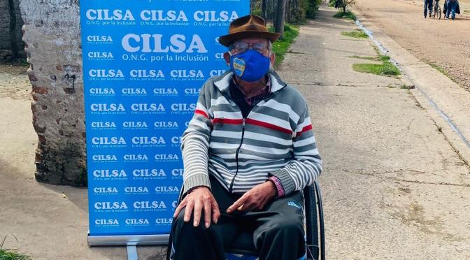 La ONGCILSAregresó a Corrientes y entregó 70 sillas de ruedas