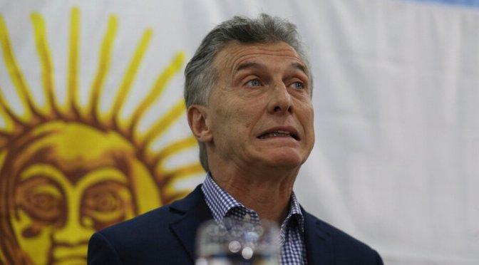 El ex presidente Mauricio Macri llamó a evadir impuestos