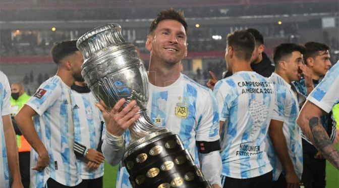 """Messi, entre lágrimas: """"Esperé esto hace mucho tiempo"""""""