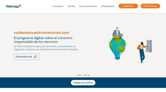 Naturgypresenta su nuevo sitio web