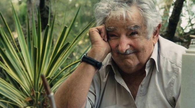 Pepe Mujica con Gabriel Oliverio