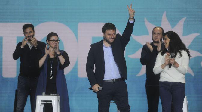 """Santoro: el Frente de Todos """"va camino a ser la fuerza política mayoritaria"""" en la Ciudad."""