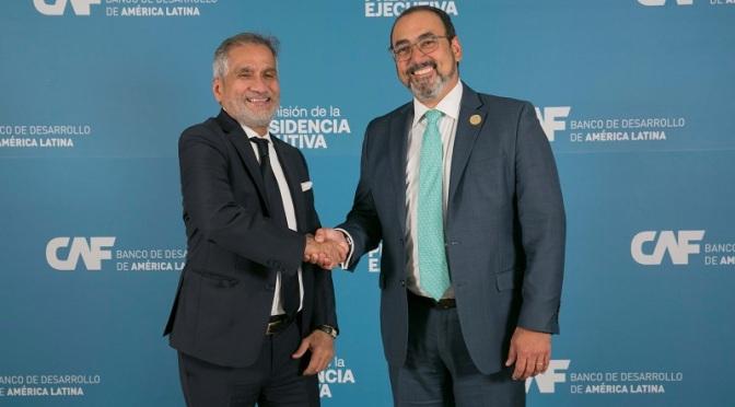Sergio Díaz-Granados llega a la presidencia de CAF con la prioridad de promover la reactivación económica y social en América Latina