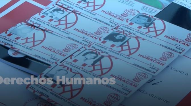 Huracán le restituyó el carnet a ocho socios detenidos y desaparecidos por la dictadura