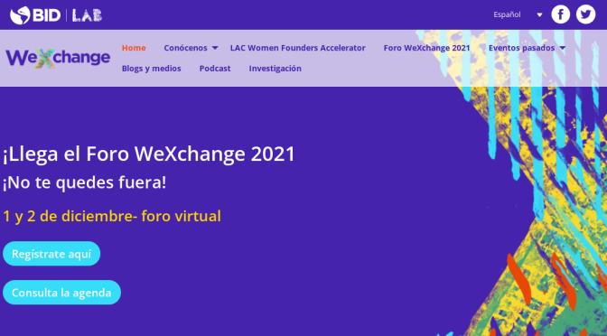 Dos startups uruguayas fueron seleccionadas porWeXchange de BID Lab y Googlepara el programa LAC Women Founders Accelerator 2021